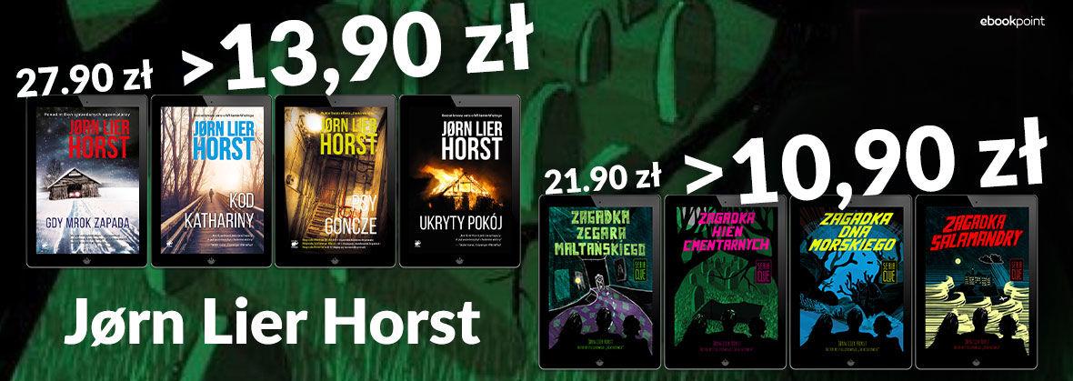 Promocja na ebooki Jørn Lier Horst